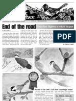 07-2007 Towhee Newsletter Tahoma Audubon Society