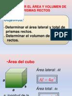 Area y Volumen