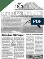 09-2007 Towhee Newsletter Tahoma Audubon Society
