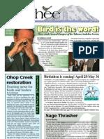 04-2008 Towhee Newsletter Tahoma Audubon Society