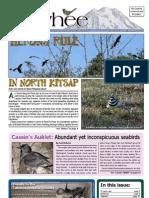 07-2009 Towhee Newsletter Tahoma Audubon Society