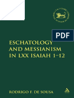Rodrigo F. de Sousa Eschatology and Messianism in LXX Isaiah 1-12