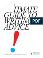 Ultimate Guide to Writing Advice (Signatures)