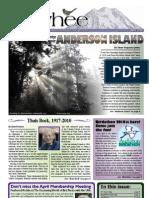 04-2010 Towhee Newsletter Tahoma Audubon Society