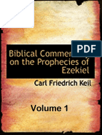 The Prophecies of Ezekiel Vol 1 (Carl Friedrich Keil)