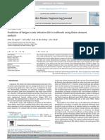 Prediction of Fatigue Crack Initiation Life in Railheads Using Finite Element-grupo 9