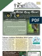 07-2010 Towhee Newsletter Tahoma Audubon Society