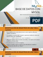 Base de Datos Con Mysql