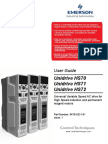 Unidrive Hs70!71!72 User Guide Issue 1( 0478-0231-01)