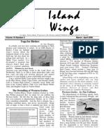 March-April 2006 Island Wings Newsletter Vashon-Maury Island Audubon