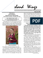 May-June 2007 Island Wings Newsletter Vashon-Maury Island Audubon