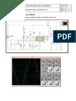 Simulacion de Circuito de Control variador de velocidad dc