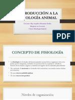 Semana 1 Introducción a La Fisiología Homeostasis
