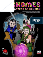 D&D - Sourcebook - Gnomes Masters of Illusion - Dark Quest Games