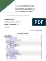 Rene de La Tour Du Pin - Etudes Sociales Et Politiques