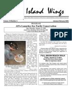 January-February 2009 Island Wings Newsletter Vashon-Maury Island Audubon