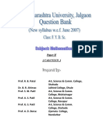 F. Y. B. Sc. (Mathematics) Question Bank-II.pdf