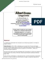 Albert Einstein - El Plagiario Del Siglo