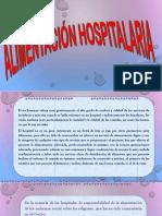 Alimentacion Hospitalaria