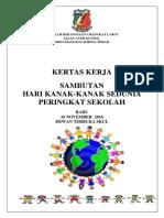 Kertas Kerja-laporan Hari Kanak-kanak-SKCL2016 (Autosaved)