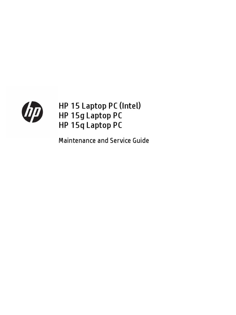 HP Laptop 15-Bs0xx | Laptop | Solid State Drive