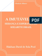 A Imutável Lei - Hakham David de Sola Pool