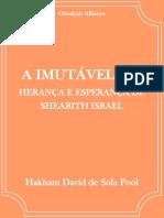 A Imutável Lei - Hakham David de Sola Pool