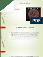 Ppt Virus Rubella