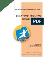 Format Bukti Fisik Lampiran Laporan Diklat Implmentasi Kurikulum 2013 Mtsn Bara Dan Bdk