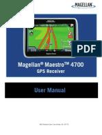 Magellan Maestro 4700 En