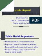 Excreta Disposal
