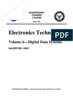 US Navy Course - Electronics Technician, Volume 6-Digital Data Systems NAVEDTRA 14091