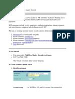 FD01 Create Customer sap sd module