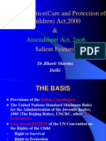 Salient Features of J J Act, 2000 & Amendment Act, 20006 (1)
