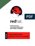 Redhat Linux System Administration Rh133