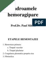 Copy of Semiologie Sange