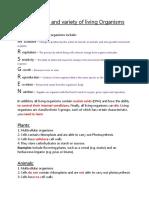 thenatureandvarietyoflivingorganisms-120924070242-phpapp01