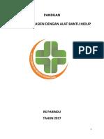 352851856 Panduan Pelayanan Pasien Dengan Alat Bantu Hidup