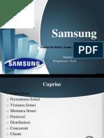 265619662 Cultura Organizationala a Firmei Samsung Ppt