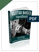 Guitar Basics Handbook by Guitarist Kevin Briggs