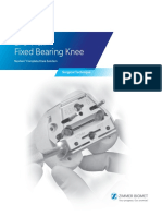 Nexgen Lps Flex Fixed Bearing Knee Surgical Technique