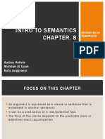Intro to Semantics