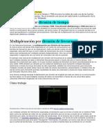 Multiplexión Por División de Tiempo-frecuencia