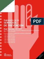 Rd 39 1997 Servicios de Prevención