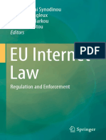 EU Internet Law - Regulation and Enforcement