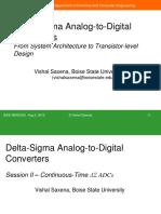 CT Delta Sigma ADC Tutorial