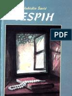 Šarić, Muhidin, zbirka pjesama ''Tespih'', Travnik 1994.g.
