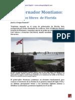 El Gobernador Montiano y Los Negros Libres de Florida