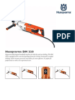 Data Sheet Husqvarna DM220 Core Drill 03-13