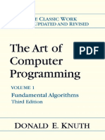 The Art Of Computer Programming Knuth Pdf